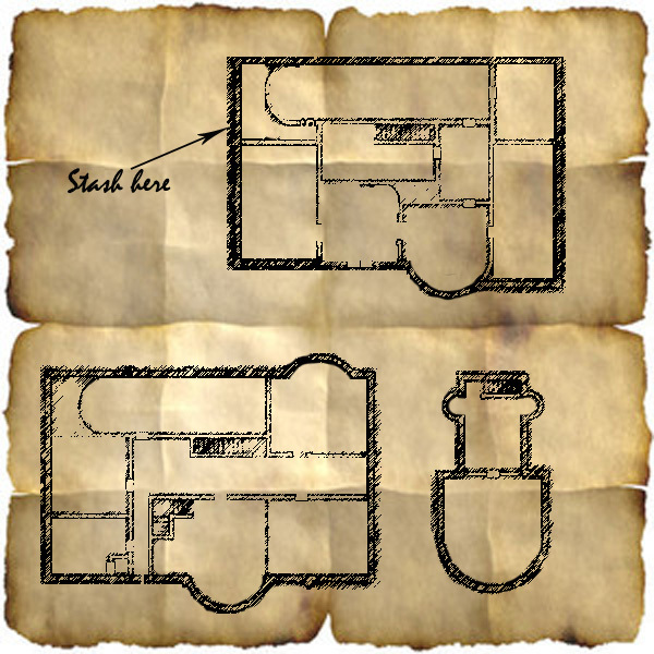 Gray Garrison Sketch Map