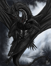 Black Dragon Daedron