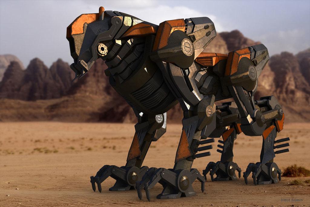 Mastiff Robot Warden