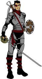 Rorn, Travelling Swordsman