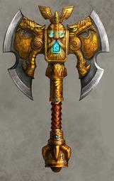 Dwarf King's War Axe