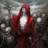 """The Gaunt Man""  (presumed Necromancer)"