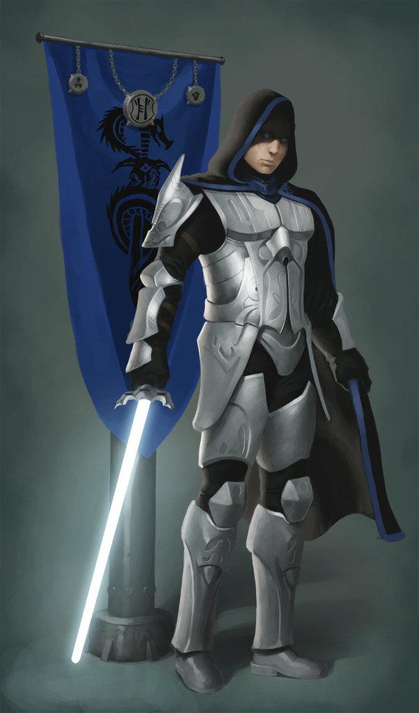 Ettel Rense, Dragon Highmaster of the Blue Dragonarmy