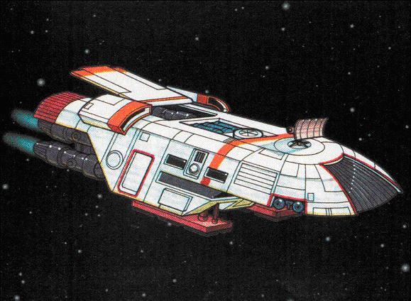 """Cantar Spark"" B-7 Light Freighter"