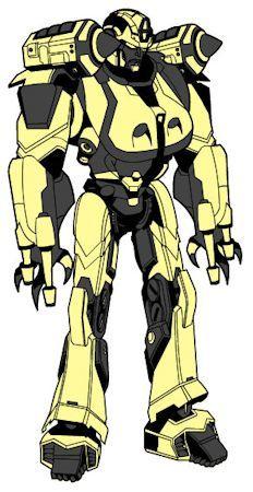 MechEnforcer Robot AX-VI