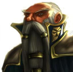 Elder Councilmember Morgoff Stonefist