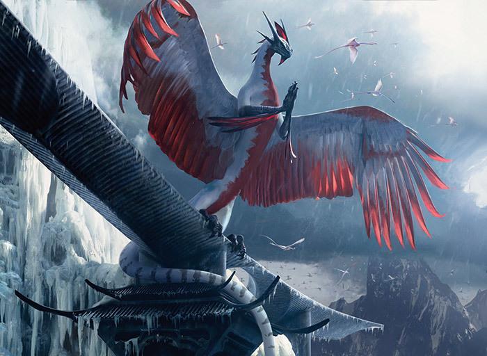 Dragonlord Ojutai, the Soul of Winter