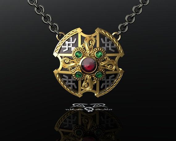 Energy shield amulet