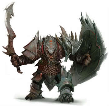 Morloch, Líder dos Escamas Negras