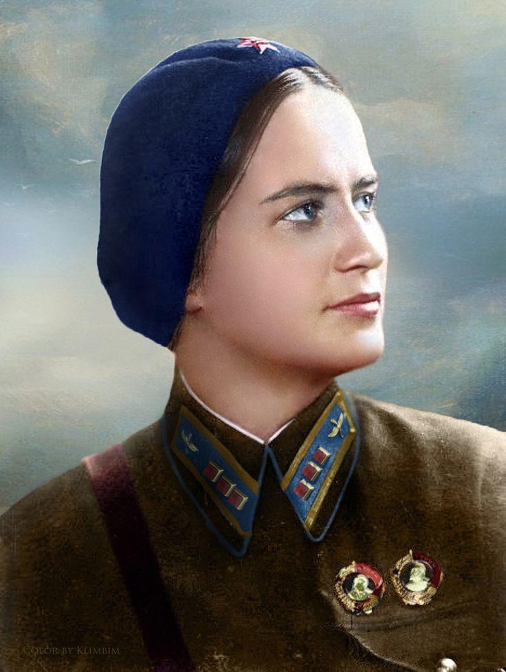 Marina Mikhailovna Raskova
