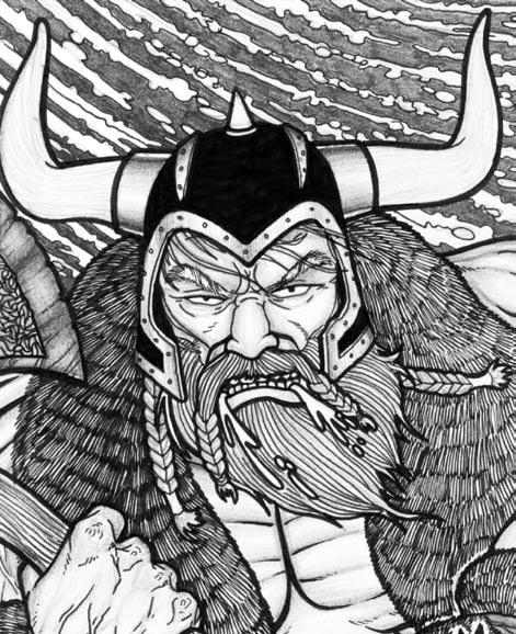 Huscarl Gundar Krigersen