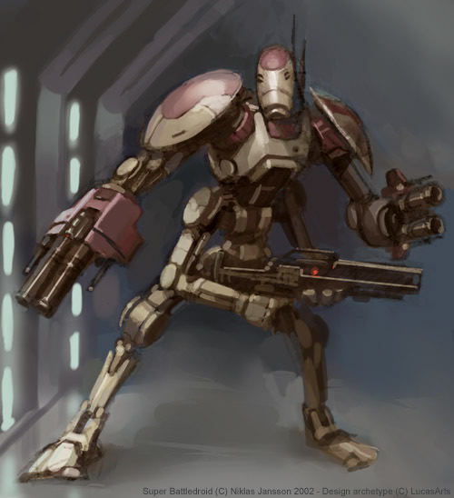 OOM-2 Super Battle Droid