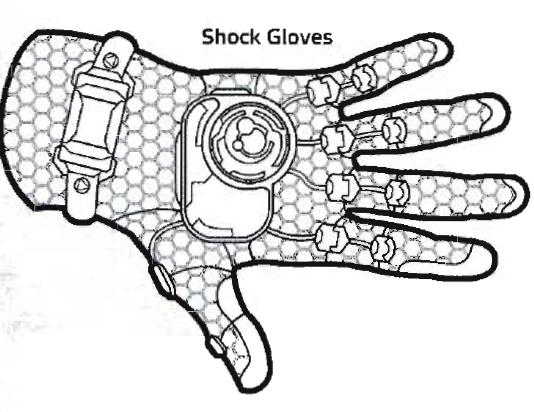 Shock Boxing Gloves