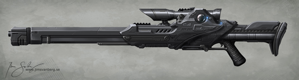 Long tom sniper rifle