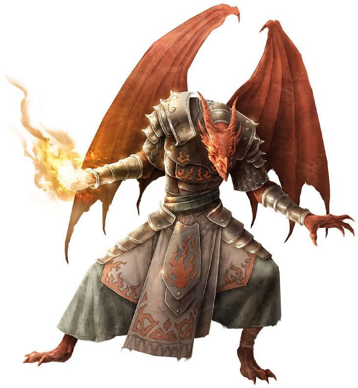 Mephenskull Red Dragon Sorcerer