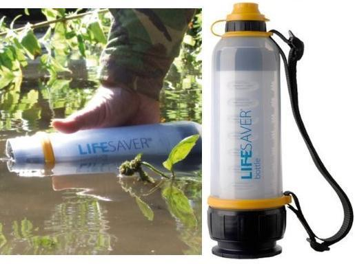 Water purifying canteen
