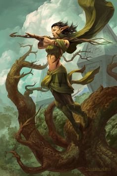 Glenvanas Nightbreeze Elf Druid