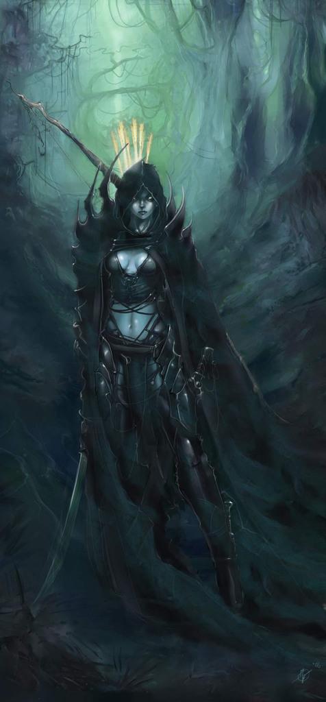 Ranger Lieutenant Aelayn, the Dark Ranger