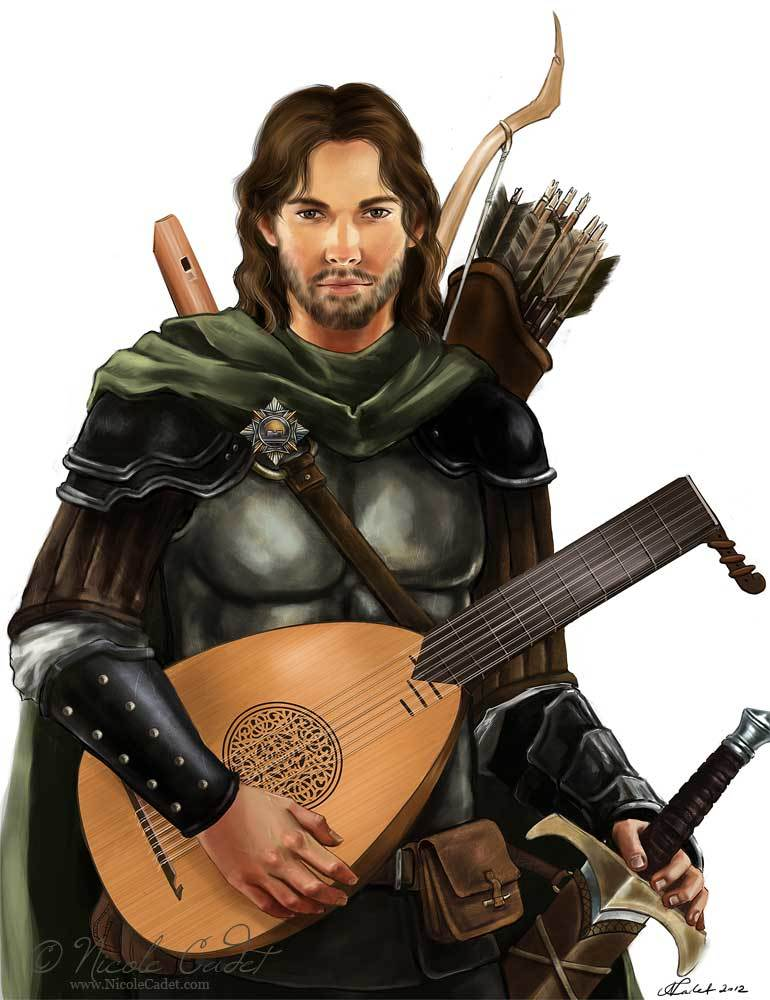 Gwydion of the Twained Elm LG NPC