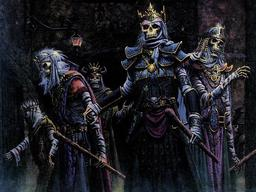 Dread Lieutenants of the Lich Lord