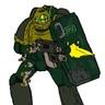 Sergeant Larz Teague
