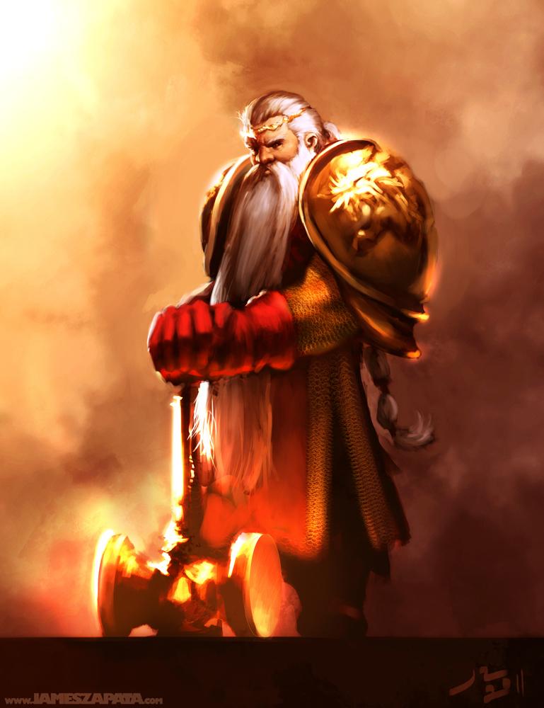 King Bekhur Goldenaxe