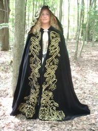 The Regally Royal Green Cloak
