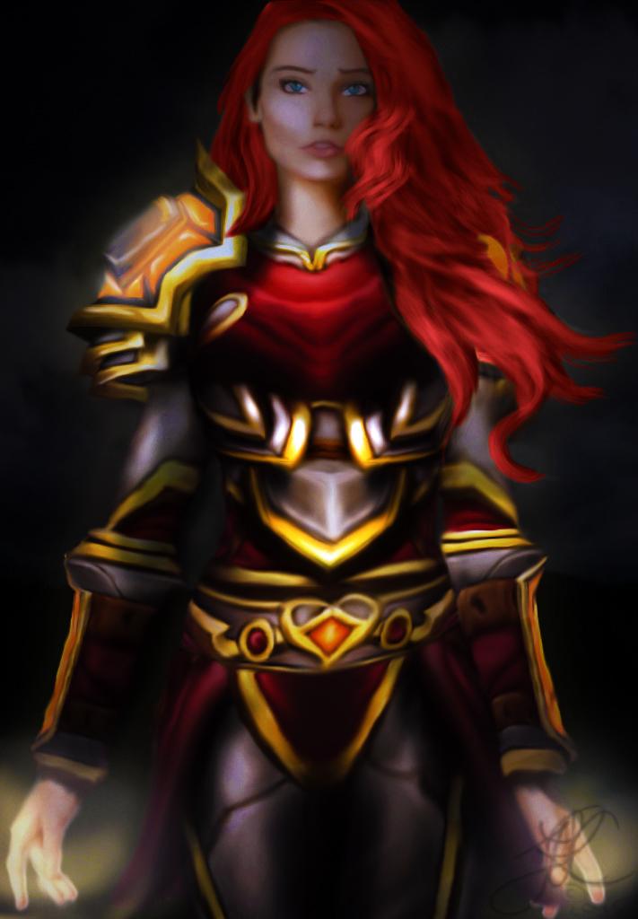 Lady Lyrelin Sunstrike Sunburst