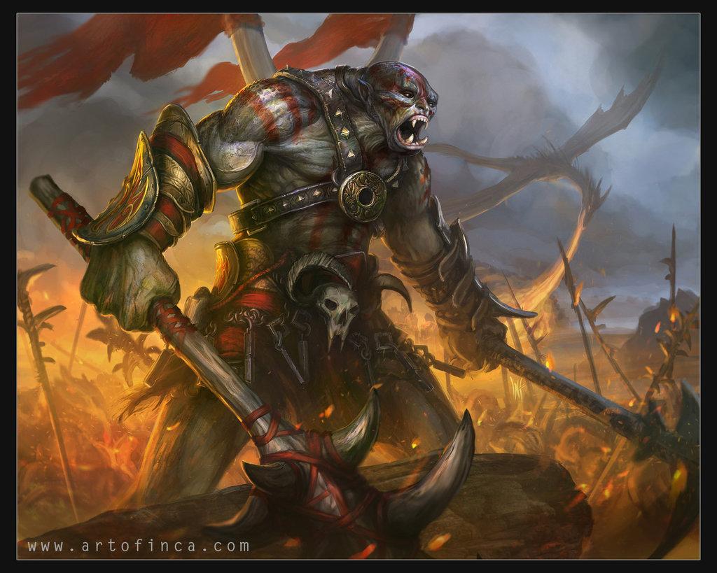 Warlord Gromaz Dead-Head