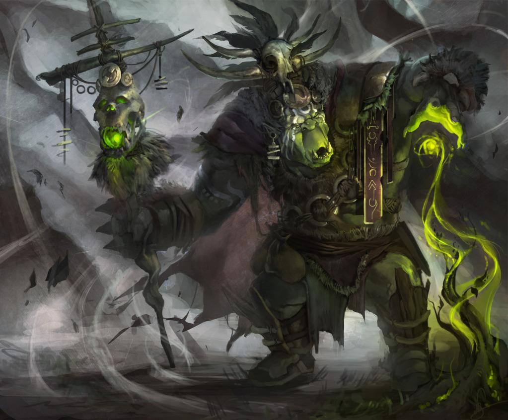 Spirit Seer Wraacyk Evil-Eye