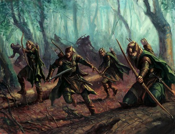 Wood Elven Wardens
