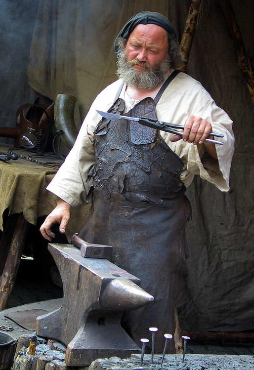 Edyin the Weapon Smith of Bodenham