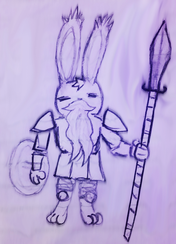 Sigurd the Rabbit Knight