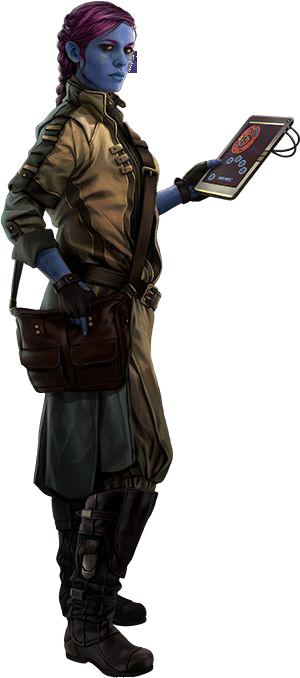 Lieutenant Aris Shen