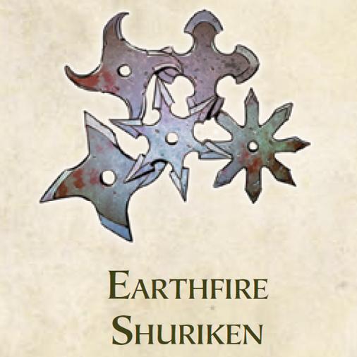 Earthfire Shuriken