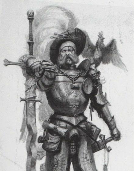 Captain Anders Blucher
