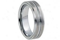 Pierścień z metalu