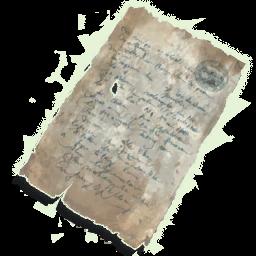 Varric Ironwinter Note