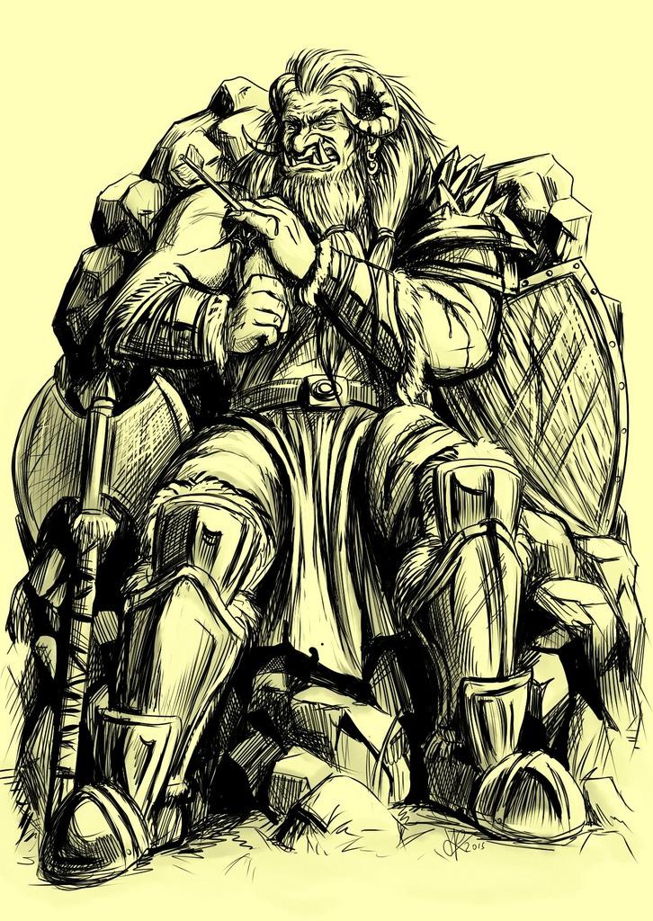 Tarlon Eisengeier von den Ironmonger