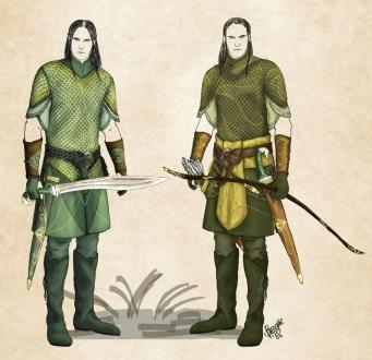 Oak and Rowen Tordynnar