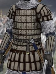 Berg's Lamellar Armour