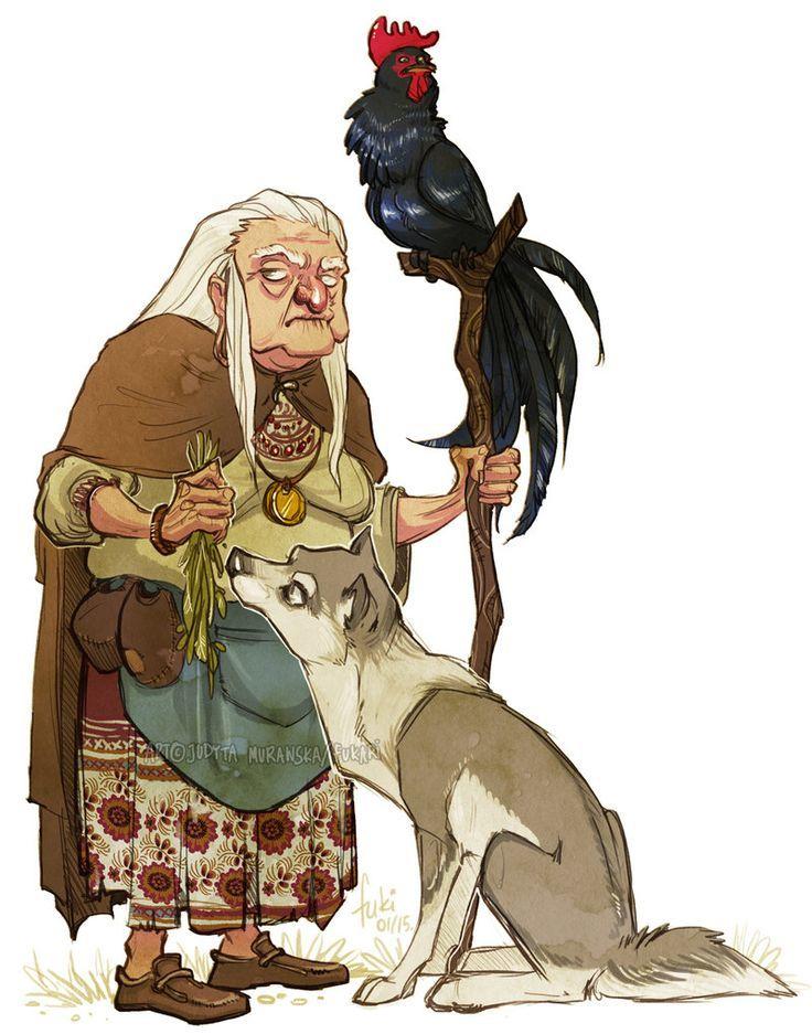 Μυστηριώδης Shapeshifter Γιαγιά/Ανδρας