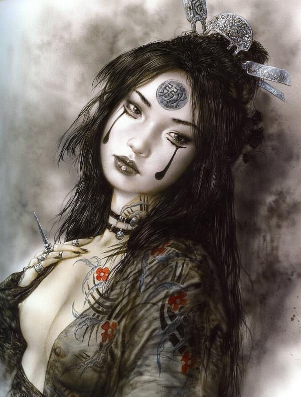 The Dark Seeress