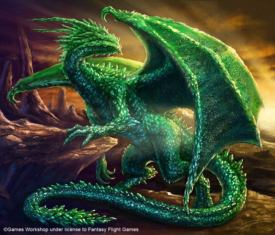 Jura, The Emerald Dragon