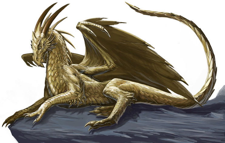 Raziel, The Gold Dragon