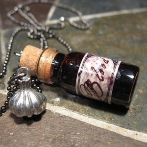 Antique Vial of Blood