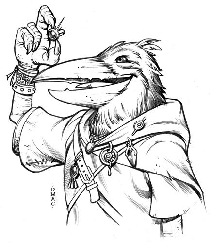 Magpie Kenku Engineer