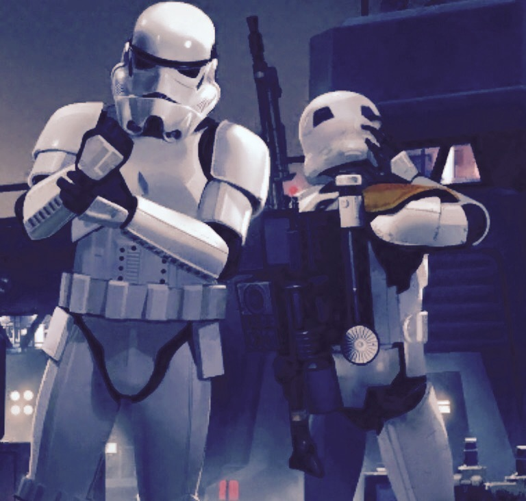 Imperial Stormtroopers.
