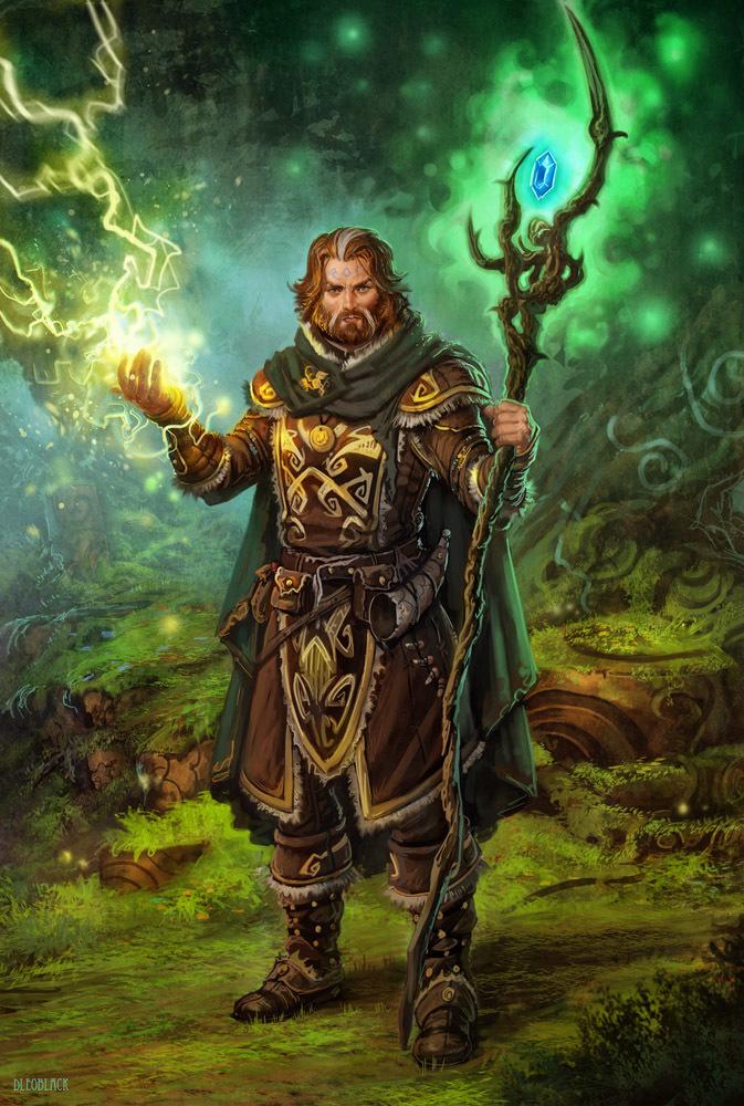 """Druid Guy"""
