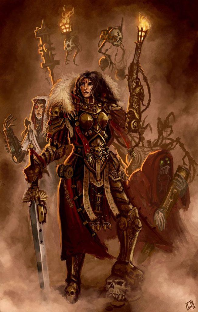 Inquisitor Octavia Lethe